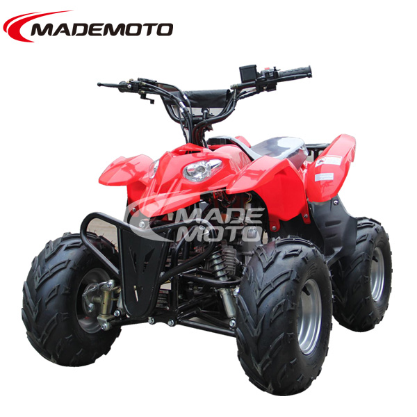 110CC ATV Equipped with Powerful Air Cooling Engine & Reverse Gear Shift