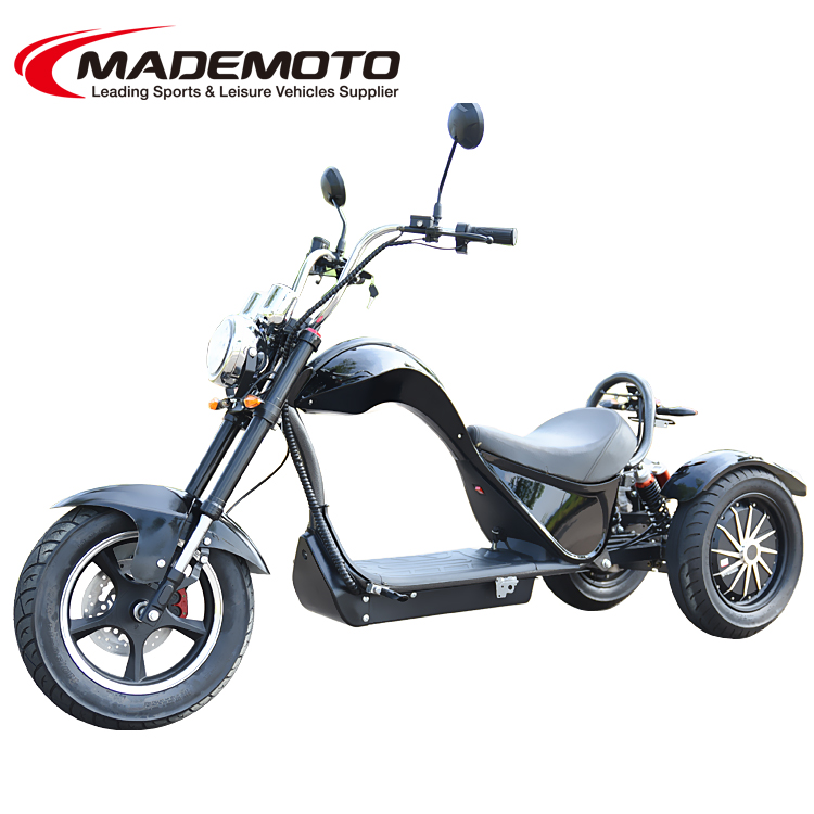 020 New 4000W EEC Approved Electric 3 Wheels Electric Chopper Citycoco Scooter