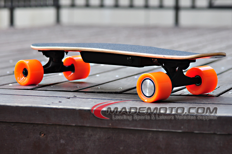 RC Electric Skateboard The World Lightest RC Electric Board with Hub Motor and Lithium Battery