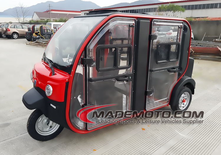 1.2kw 12V 120Ah 3 wheels electric car