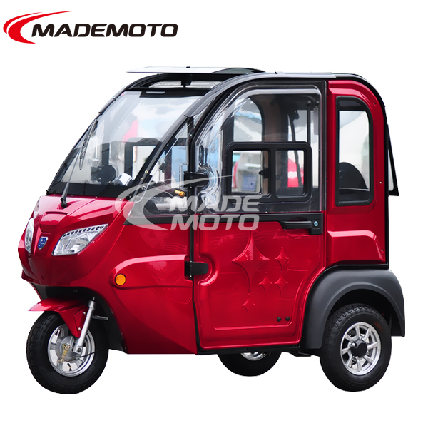 3 wheel 2 doors 2 seat electric car