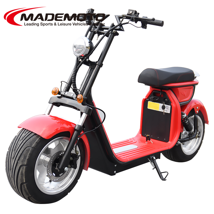 2019 NEW 4000W Aluminum Brushless strong motor 60 20AH lithium battery Citycoco Electric Scooter
